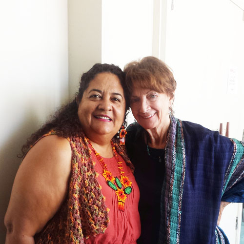 Elsa Higareda y Ann Doherty