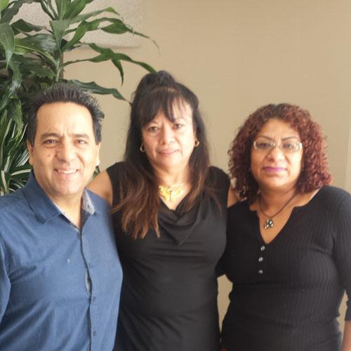 Eugenio Torres, Themis De La Peña y Liliana Cruz